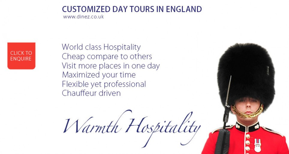 Image of a Royal Guard with Day Tours in England informations